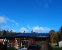 Installation photovoltaïque à Villance